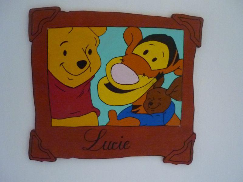Amazing winnie et son pot de miel with dcoration chambre winnie l ourson - Chambre winnie auchan ...